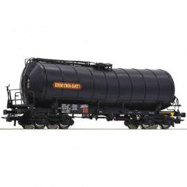 76537 Wagon citerne à bogies livrée noir ERMEWA-SATI