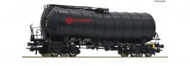 76542 Wagon citerne à bogies livrée noir ERMEWA