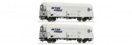 76040 Coffret 2 Wagons réfrigérants de la SNCF