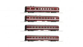 74110 Coffret de 4 voitures livrée «CAPITOLE»