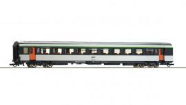 74534 Voiture voyageurs corail seconde classe B10tu avec logo encadré