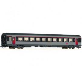 74542 Voiture corail première classe A10tu avec couloir central et logo carmillon