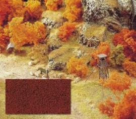 BUE7326 Flocages microfibres rouge