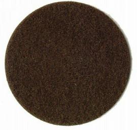 HE3352 flocage fibres herbes brunes