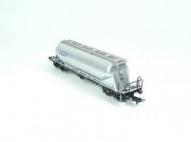 NM503801 Wagon silo pulvérulents Uacns «EVS», argent
